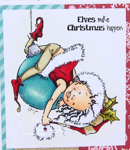 Heather's Hobbie Haven - Little Elf Pipa Card