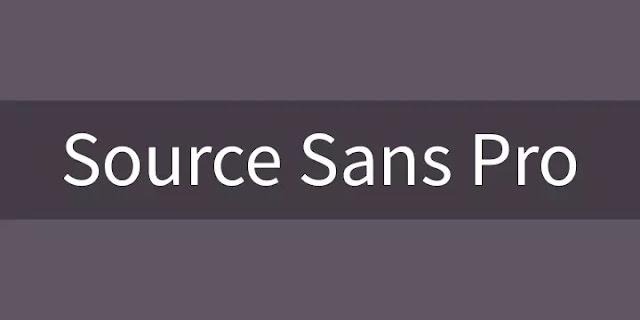 3. Source Sans Pro