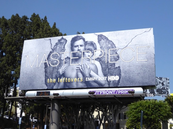 Leftovers season 3 Emmy FYC Masterpiece billboard