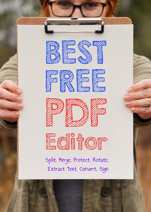 Completely Free PDF Editor Full Of Features