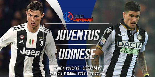 Prediksi Bola Juventus vs Udinese Liga Italia