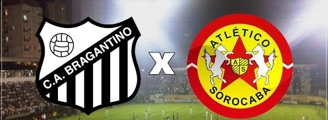 Bragantino busca voltar ao topo contra o Atlético Sorocaba