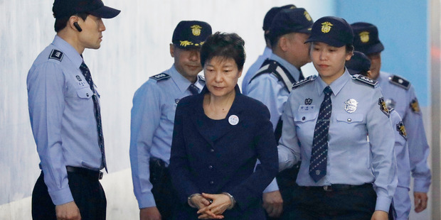 Life in prison given to former South Korean President Park Geun-hye