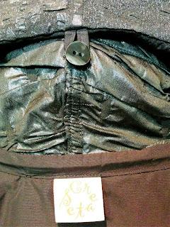 Creates Sew Slow: Vogue 1836 Issey Miyake - collar button