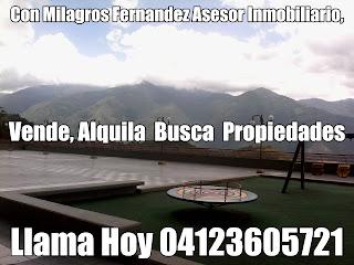 Milagros Fernandez gerencia  de negocios asesoria inmobiliaria 04123605721