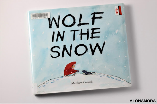 Wolf in the Snow by Matthew Cordell is a wordless picture that won the Caldecott Medal in 2018.  This sweet and simple story of family, animals, wolves, cubs, karma, helping others is one toddlers up to 3rd grade at least can enjoy.  Book review. Alohamora Open a Book alohamoraopenabook http://alohamoraopenabook.blogspot.com/