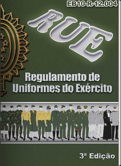 Portal SGDA  Novo RUE Regulamento de Uniformes do Exército 2015 ad7b5a47017