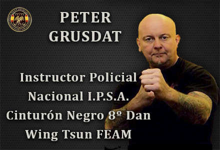 PETER GRUSDAT INSTRUCTOR POLICIAL NACIONAL IPSA INTERNATIONAL POLICE AND SECURITY ASOCCIATION IPSA