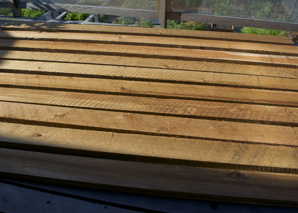 Rough Red Cedar Boards