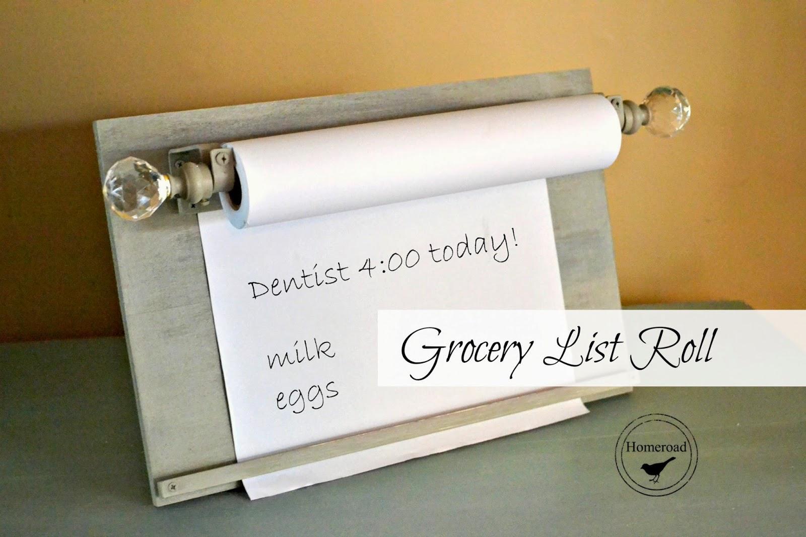Grocery-list-roll-DIY www.homeroad.net