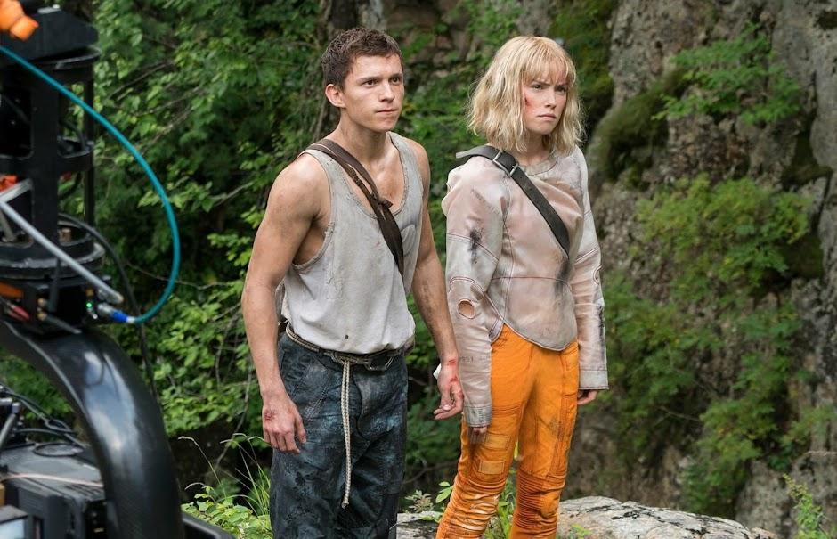 """Daisy Ridley e Tom Holland na primeira imagem de """"Chaos Walking"""""""