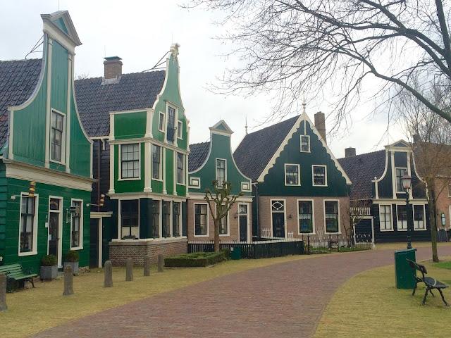 Zaanse Schans Village Netherlands