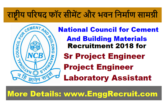 NCCBM Recruitment 2018
