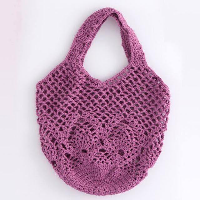 Bolso Violeta a Crochet