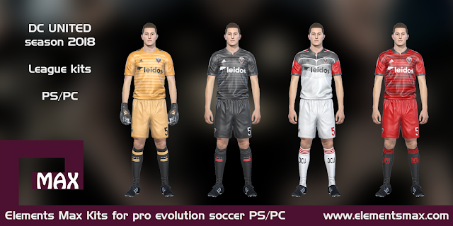 DC United PES Kits