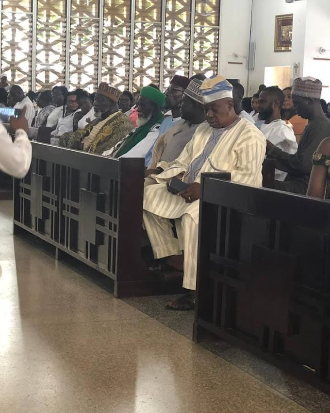Chief Imam worships with Christ the King Church ahead of 100th birthday celebration
