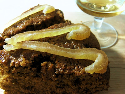 Let Her Eat Cake: Whisky Mac Ginger Cake