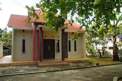 Salah satu Homestay di Jalan Tabib, Pulau Penyengat