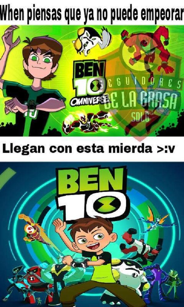 Cada dia peor Ben10
