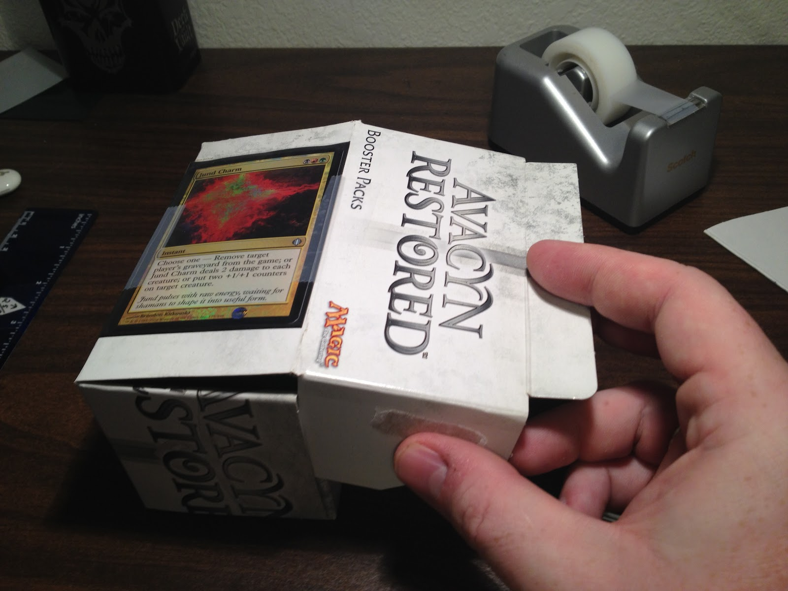Word Of Commander Make Your Own Deck Box