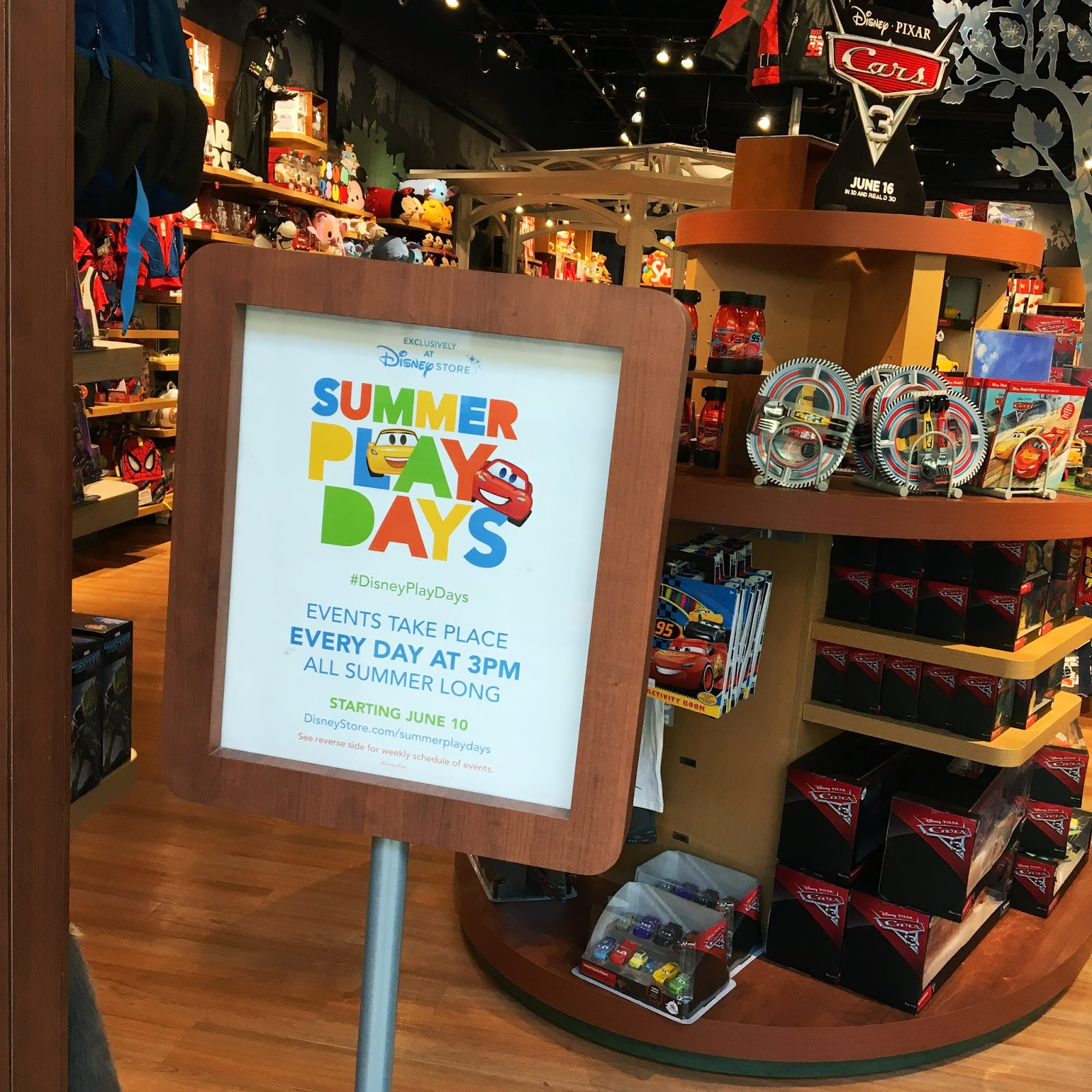 disney store 2017 summer play days