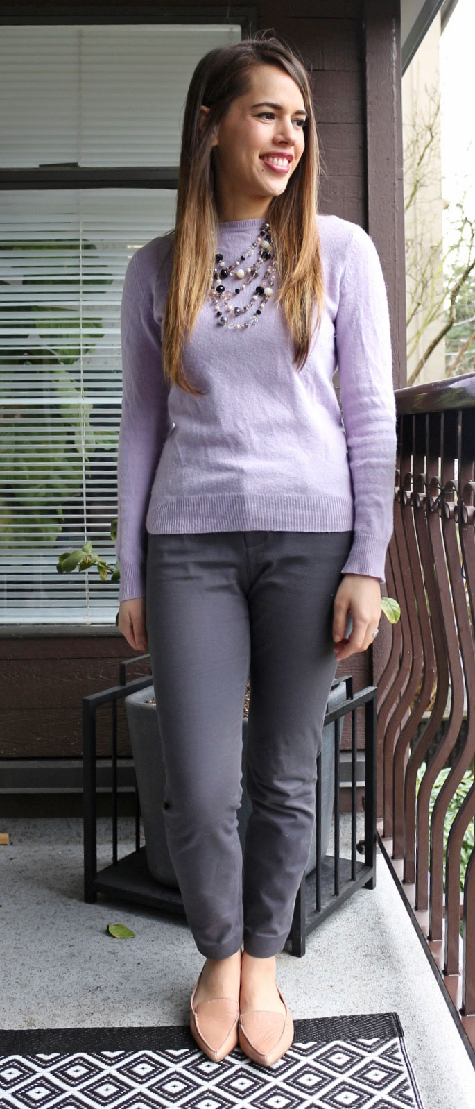 Jules in Flats - Joe Fresh Cashmere Sweater