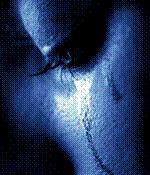 Campaña contra la pornografía infantil (lágrima rodando por la mejilla de un niño)