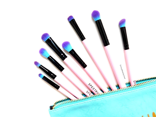 Spectrum 8 Piece Eye Blending Brushes Set
