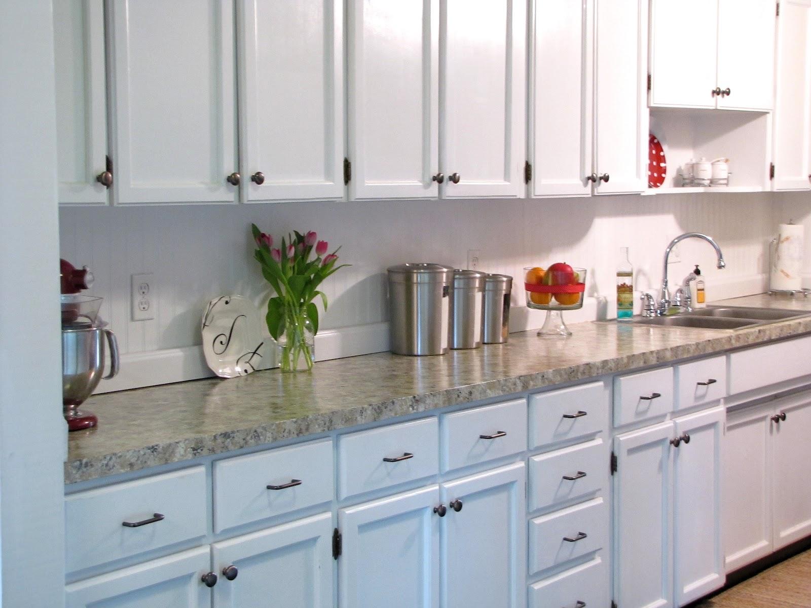 kitchen update faux granite countertops laminate kitchen countertops Kitchen Update Faux Granite Countertops