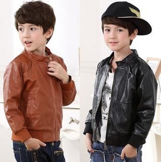Model jaket kulit buat anak anak