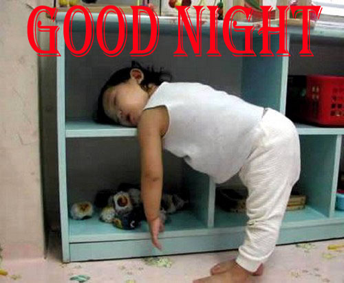 Funny Good Night Baby Pictures