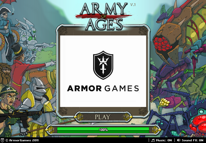 Army of Ages - Unblocked Games for School