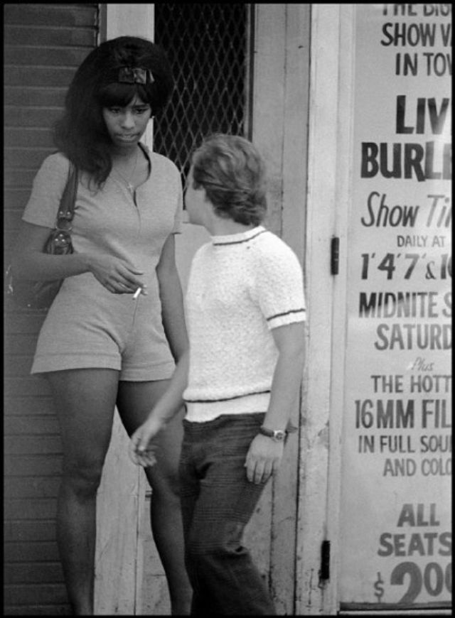 The Bad Old Days of New York 15 Black and White Photos Documented NYC Street Prostitutes in