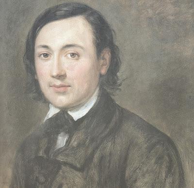 Portrait de François DULAC, huile sur toile, 1855