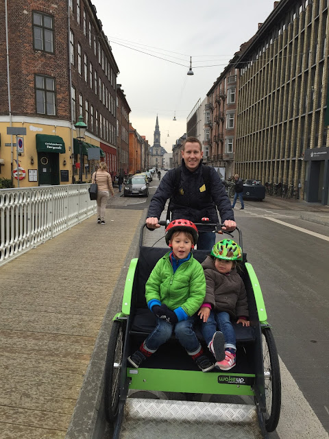 Family bike in Copenhagen