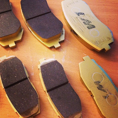 How To Change And Rework Brake Pads