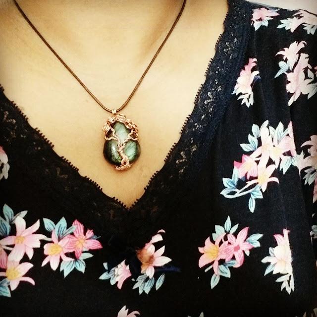 Copper Pendants, Wire Wrapped Jewellery, Tree of Life Pendants, Copper Jewelry