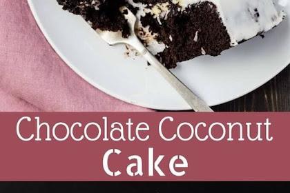 Chocolate Coconut Cake | Rahasia Masak