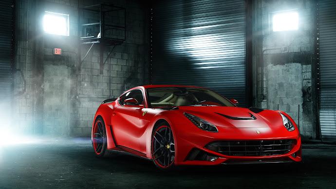 Wallpaper: HOT Ferrari F12