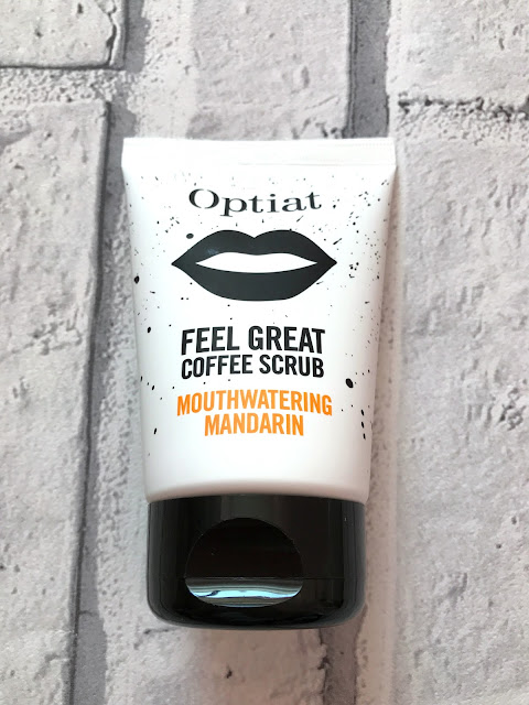 Optiat Feel Great Coffee Scrub Mouthwatering Mandarin