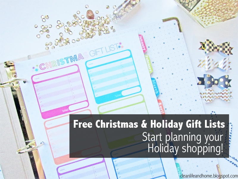 Clean Life And Home: Freebie: Christmas & Holiday Gift