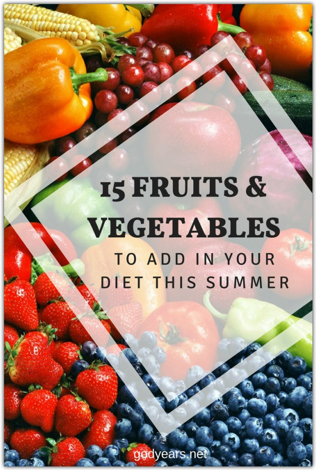 15 Fruits and Vegetables to add in your diet this summer #SuperBloggerChallenge2018