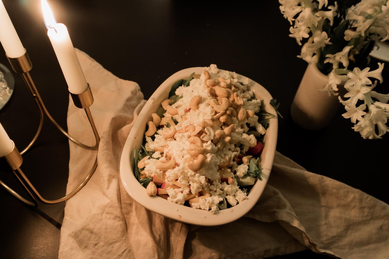 salaatti, joulusalaatti, resepti, reseptit, salaatti, inspiraatio, ruoka,