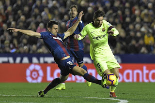 Watch Levante vs Barcelona live Stream Today 10/1/2019 online Spain Copa del Rey