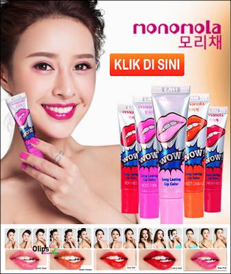 Monomola lip tattoo Pemerah Bibir Permanen