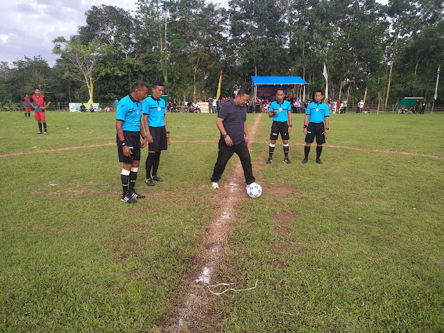 Luar Biasa, Ratusan Masyarakat Padati Turnamen Ahmading ST Rabiah Cup