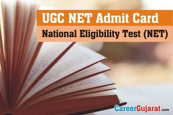 National Eligibility Test (NET) July 2016 Exam Admit Card
