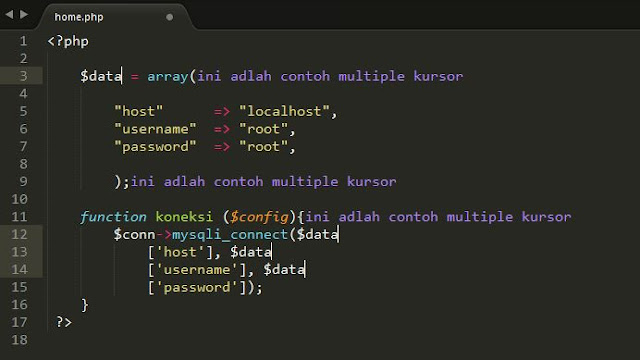 Tutorial Sublime Text 3 – #4 Editing (Bagian 1) 2