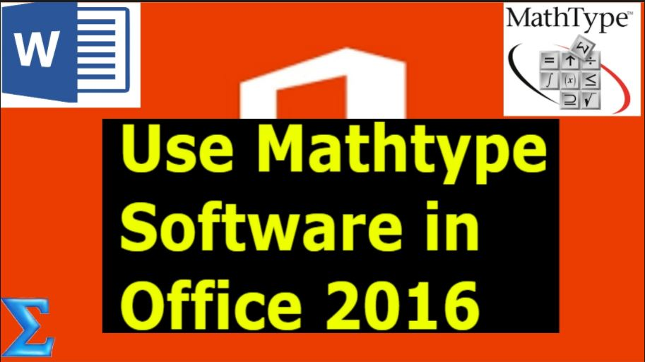 How to Add MathType Tab in Microsoft Office 2016 in 6 simple