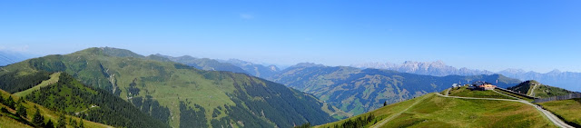 High  above  Zell  am  See  and  Kaprun